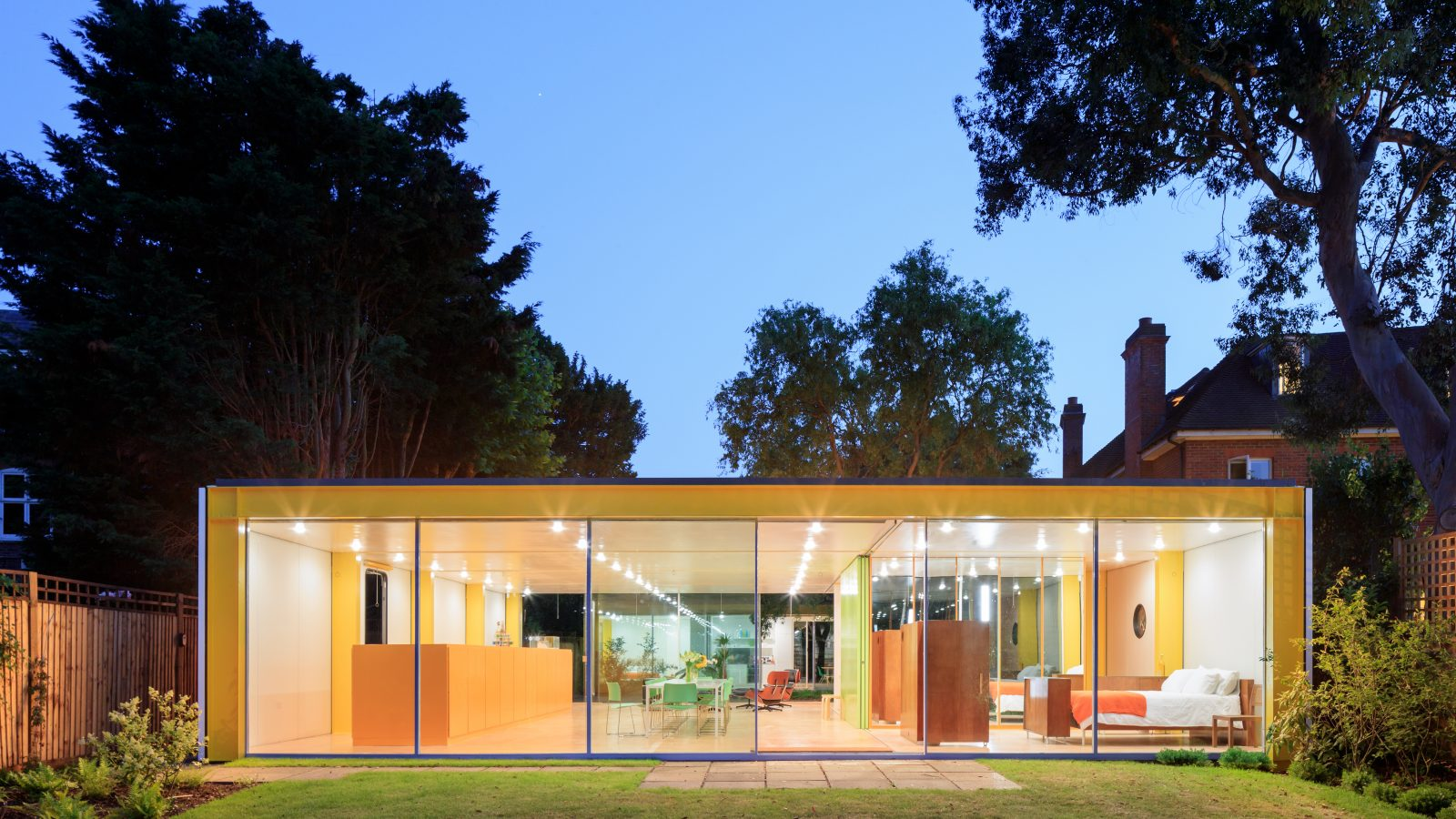 The Wimbledon House, Richard Rogers. Courtesy of the Harvard Graduate School of Design. Image © Iwan Baan.