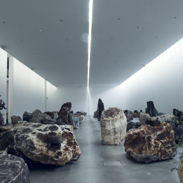 Installation view, Adrian Villar Rojas, Rinascimento, 2015 at Fondazione Sandretto Re Rebaudengo