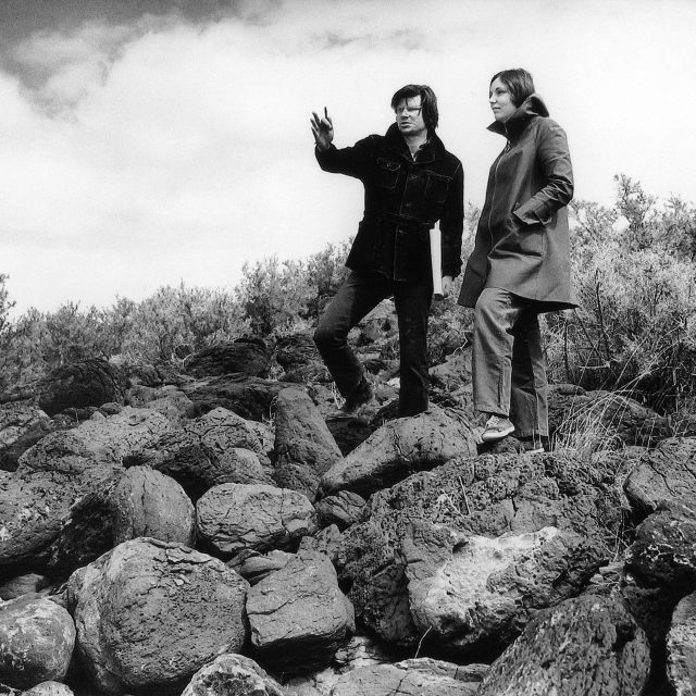 Sutton PR – Foundations -Robert Smithson and Nancy Holt at Spiral Jetty