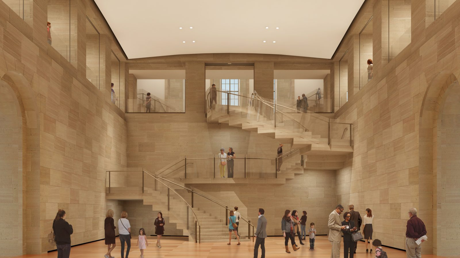 Sutton PR - Philadelphia Museum of Art - Architectural rendering by Gehry Partners