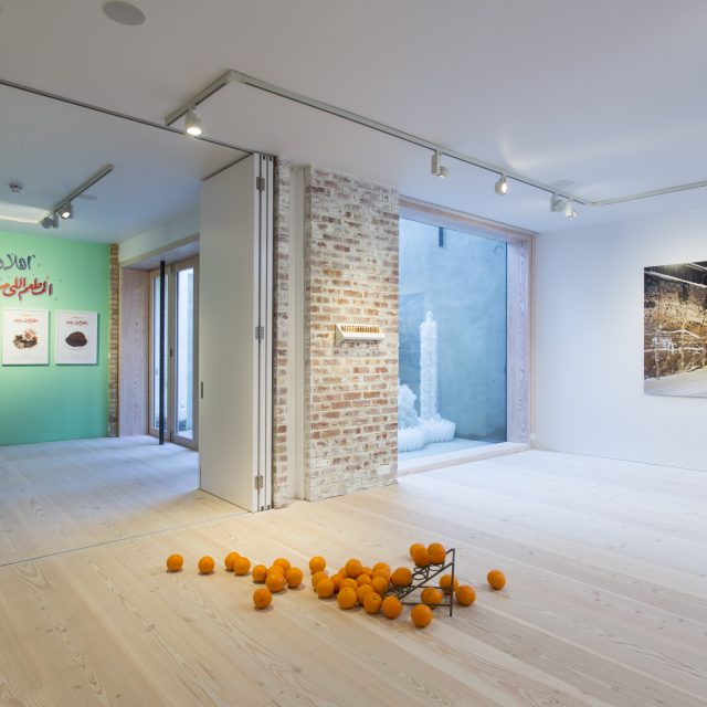 Politics of Food, Exhibition View, Delfina Foundation, 20 Jan - 22 Feb 2014 (c) Tim Bowditch (4)