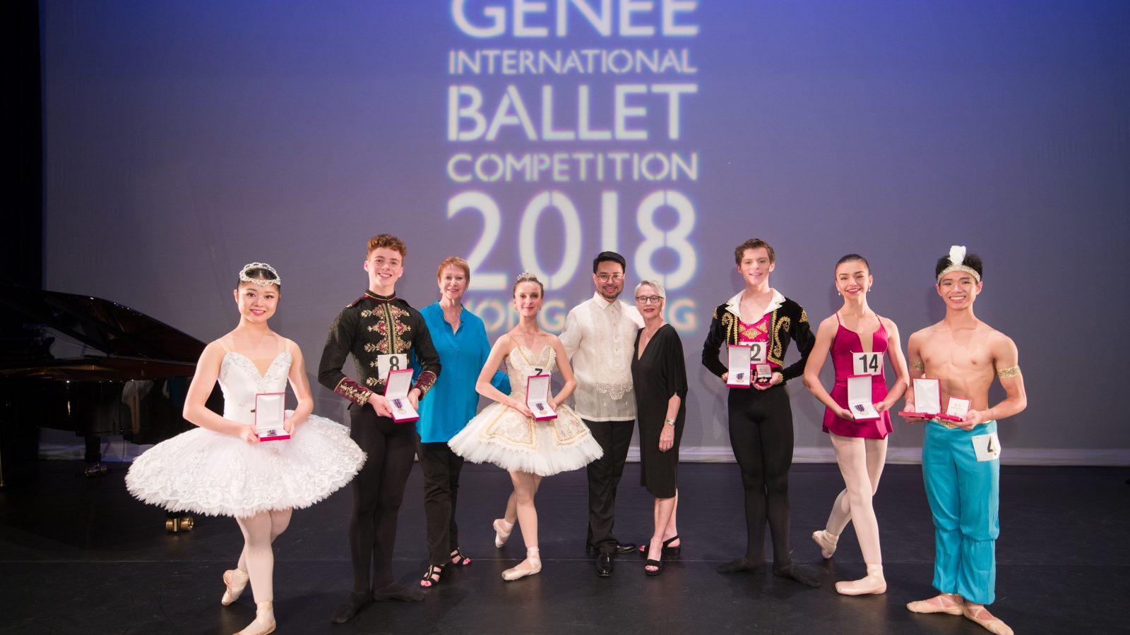 Sutton PR - Royal Academy of Dance - Genée 2018 medallists - Hilary Clark - Carlo