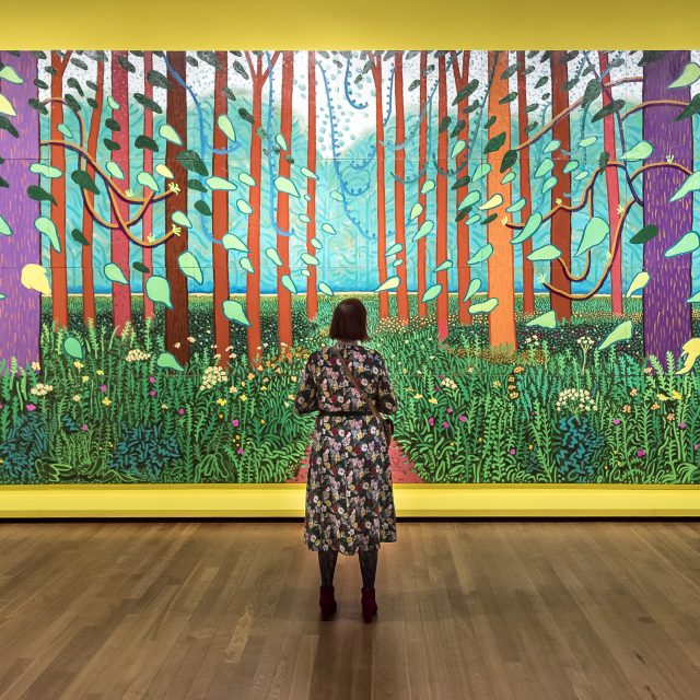 Hockney - Van Gogh, The Joy of Nature at the Van Gogh Museum. Courtesy Van Gogh Museum. Photo Jan-Kees Steenman (4)