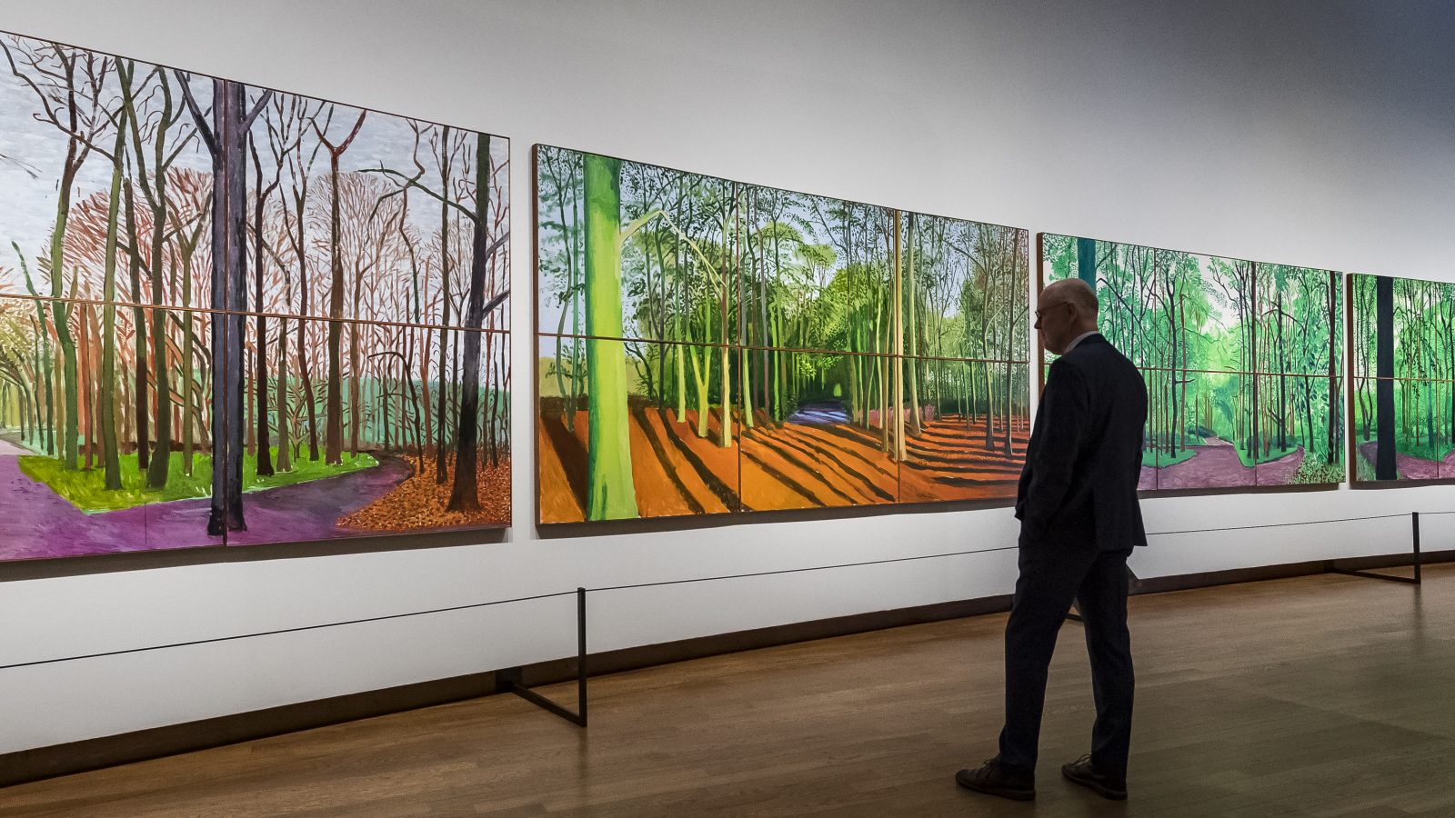 Hockney - Van Gogh, The Joy of Nature at the Van Gogh Museum. Courtesy Van Gogh Museum. Photo Jan-Kees Steenman (7)