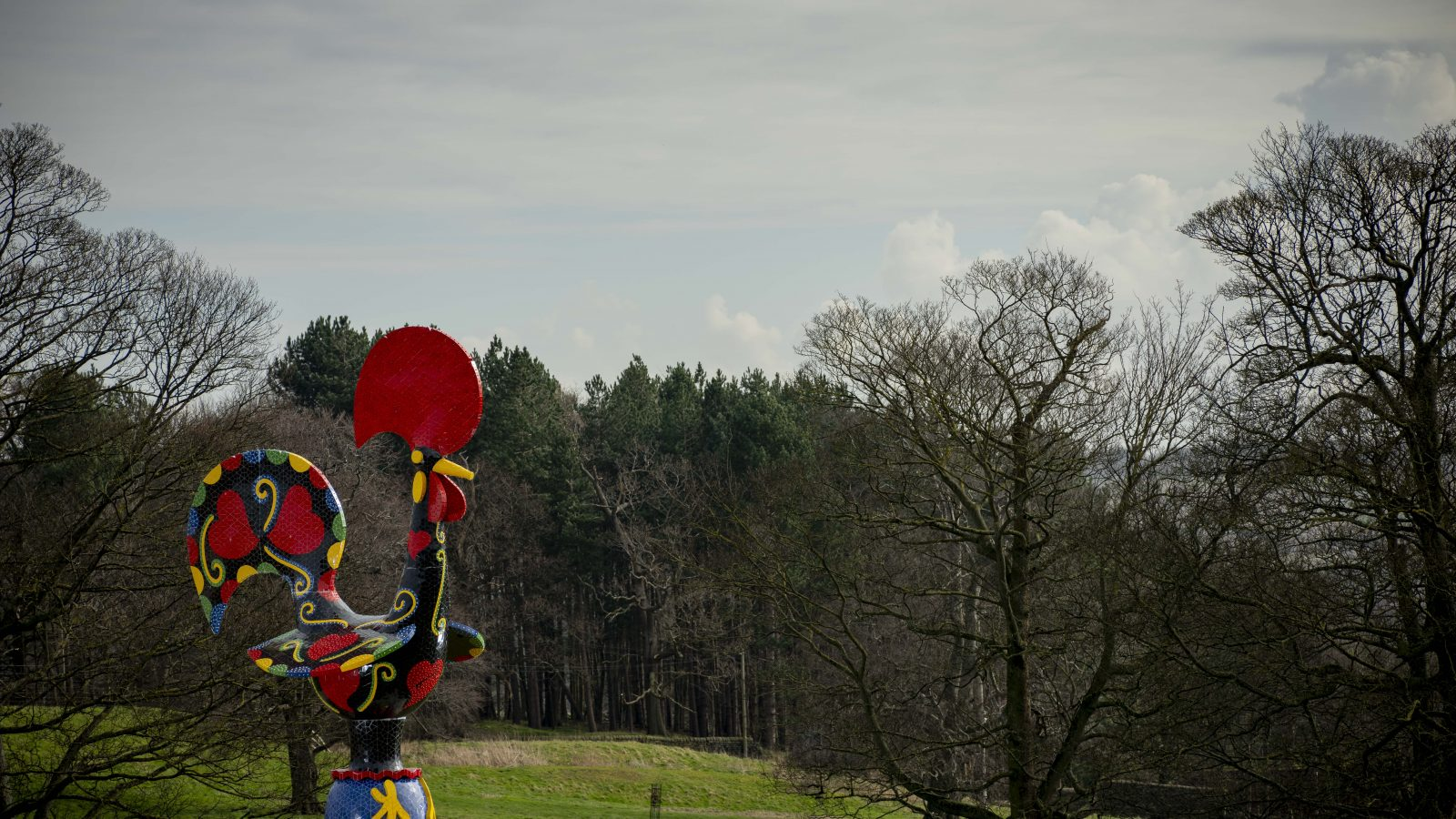 Joana Vasconcelos, Pop Galo at Yorkshire Sculpture Park, 2020. Photo © Jonty Wilde, Courtesy the artist and YSP (2)