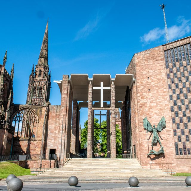 Coventry Cathedral, photo Garry Jones