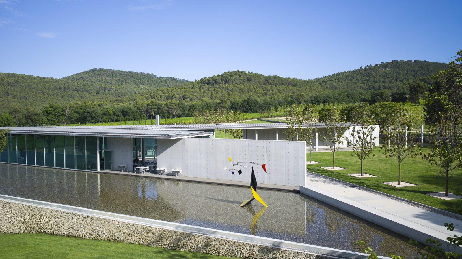 Tadao Ando, Art Centre, 2011 © Tadao Ando, Chateau La Coste, 2016. Photograph (c) Andrew Pattman, 2016
